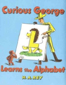 "<font title=""Curious George Learns the Alphabet (Paperback+CD)"">Curious George Learns the Alphabet (Pape...</font>"