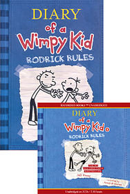 Diary of a Wimpy Kid #2 : Rodrick Rules (Paperback + Audio CD:2)