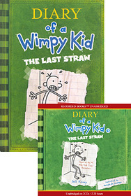 Diary of a Wimpy Kid #3 : The Last Straw (Paperback + Audio CD:2)