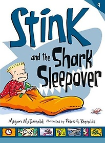 """<font title=""""Stink and the Shark Sleepover (Paperback)"""">Stink and the Shark Sleepover (Paperback...</font>"""