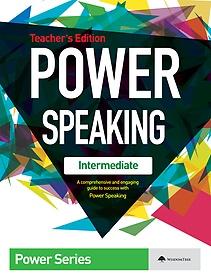 "<font title=""파워 스피킹 인터미디에이트 Power Speaking Intermediate - Teacher"