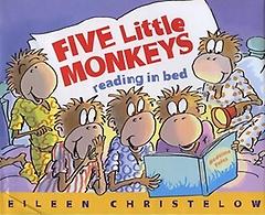 "<font title=""Five Little Monkeys Reading in Bed (Hardcover)"">Five Little Monkeys Reading in Bed (Hard...</font>"