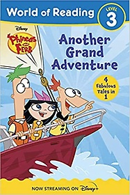 """<font title=""""World of Reading Phineas and Ferb Another Grand Adventure (Paperback)"""">World of Reading Phineas and Ferb Anothe...</font>"""