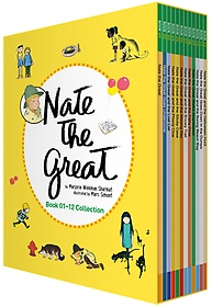 "<font title=""Nate the Great 네이트 더 그레이트 영어원서 박스 세트 (Book 01~12)"">Nate the Great 네이트 더 그레이트 영어원...</font>"
