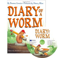 [������]Diary of a Worm (Hardcover+ CD)
