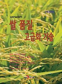 쌀 품질 고급화 기술