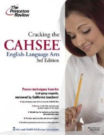 """<font title=""""The Princeton Review: Cracking the CAHSEE English-Language Arts (Paperback/ 3rd Ed.) """">The Princeton Review: Cracking the CAHSE...</font>"""