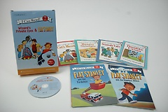 I Can Read SET 11: Flat Stanley & The Wizard Private Eye (Paperback:6+MP3 CD:1)
