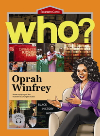 Who? Oprah Winfrey (Book+Audio CD)
