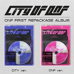 온앤오프(ONF) - CITY OF ONF [리패키지][CITY+ONF ver.][패키지]