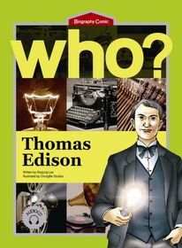 Who? Thomas Edison (Book+Audio CD)