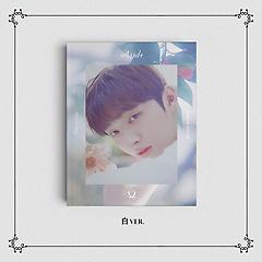 윤지성 - Aside [1st Solo Album][白 Ver.]