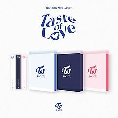 트와이스(TWICE) - Taste of Love [10th Mini Album][3종 중 1종 랜덤출고]