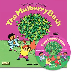 """<font title=""""[노부영]Here We Go Round the Mulberry Bush (Paperback+CD)"""">[노부영]Here We Go Round the Mulberry Bu...</font>"""