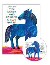 """<font title=""""[노부영]The Artist Who Painted a Blue Horse (Hardcover+ CD)"""">[노부영]The Artist Who Painted a Blue Ho...</font>"""