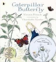 Caterpillar Butterfly (Paperback +CD)