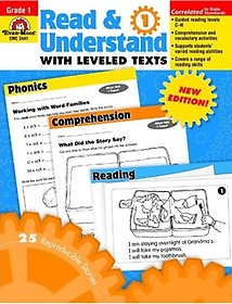 """<font title=""""Read & Understand with Leveled Texts, Grade 1 (Paperback)"""">Read & Understand with Leveled Texts, Gr...</font>"""