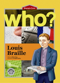 Who? Louis Braille (Book+Audio CD)