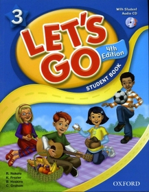 Let's Go 3 (4th Edition) : Student Book with Audio CD