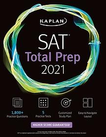 """<font title=""""SAT Total Prep 2021: 5 Practice Tests + Proven Strategies + Online + Video (Paperback)"""">SAT Total Prep 2021: 5 Practice Tests + ...</font>"""