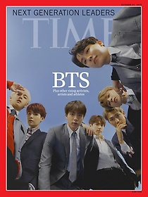 [BTS] Time Asia (주간, 발행국: 미국) - 2018년 10월 22일 : 방탄소년단 커버