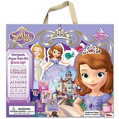 "<font title=""Sofia The First: Disney Princess Storybook Paper Doll Kit (Hardcover)"">Sofia The First: Disney Princess Storybo...</font>"