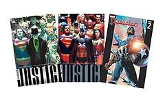 저스티스 DC 코믹스 패키지 (전3권)