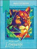 Harcourt Language Practice Book - Grade 4 (Paperback)