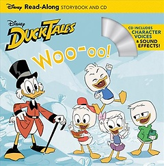"""<font title=""""Ducktales Woo-oo! Read-along Storybook and Cd (Paperback+CD)"""">Ducktales Woo-oo! Read-along Storybook a...</font>"""