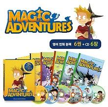 "<font title=""매직어드벤쳐 Magic Adventures Box Package : Story Book 6권 + Audio CD 6장"">매직어드벤쳐 Magic Adventures Box Packag...</font>"