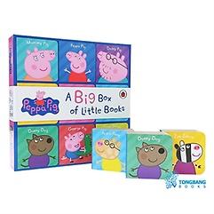 """<font title=""""페파피그 미니 보드북 9종 세트 : Peppa Pig Big Box of Little Books (Board book, 영국판)"""">페파피그 미니 보드북 9종 세트 : Peppa Pi...</font>"""