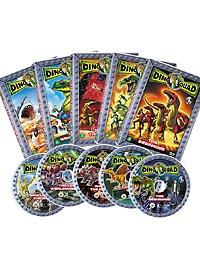 다이노 스쿼드 5종세트 - DVD