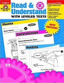 """<font title=""""Read & Understand with Leveled Texts, Grade K (Paperback)"""">Read & Understand with Leveled Texts, Gr...</font>"""