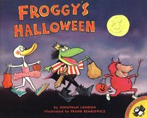 Froggy's Halloween (Paperback)