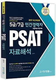 2017 5급 7급 민간경력자 PSAT 자료해석