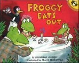 Froggy Eats Out (Paperback+CD)