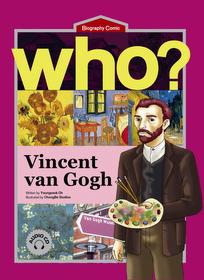 Who? Vincent van Gogh (Book+Audio CD)