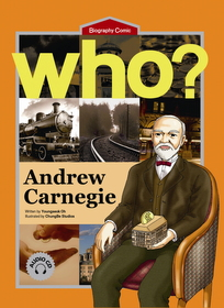 Who? Andrew Carnegie (Book+Audio CD)