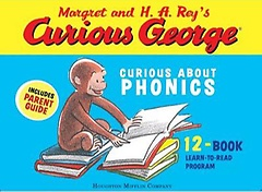 Curious George: Curious about Phonics 12 Book Set (Boxed Set)