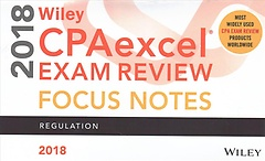 "<font title=""Wiley Cpaexcel Exam Review 2018 Focus Notes (Paperback)"">Wiley Cpaexcel Exam Review 2018 Focus No...</font>"