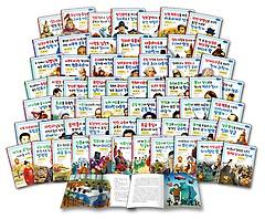 교과서 저학년 위인전 시리즈 1~60권 세트