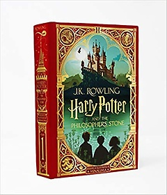 """<font title=""""Harry Potter and the Philosopher's Stone (Hardcover/ MinaLima Edition)"""">Harry Potter and the Philosopher's Ston...</font>"""