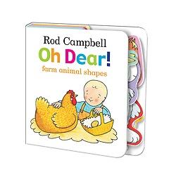 Oh Dear! Farm Animal Shapes (Board book)