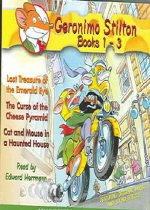 Geronimo Stilton #1-3 (Audio CD/ Unabridged )