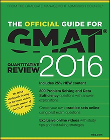 """<font title=""""The Official Guide for GMAT Quantitative Review 2016 (Paperback/ 4th Ed.)"""">The Official Guide for GMAT Quantitative...</font>"""