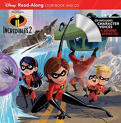 Incredibles 2 Read-Along Storybook (Paperback / Paperback+CD)