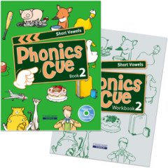 Phonics Cue 2 Set (Student Book+ Workbook+ CD)