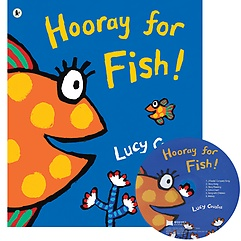 """<font title=""""[노부영 세이펜] Hooray for Fish! (Paperback+CD)"""">[노부영 세이펜] Hooray for Fish! (Paperb...</font>"""