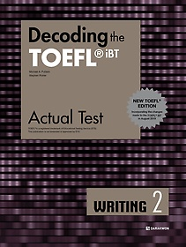"<font title=""Decoding the TOEFL iBT Actual Test WRITING 2 (New TOEFL Edition)"">Decoding the TOEFL iBT Actual Test WRITI...</font>"