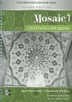 """<font title=""""Mosaic 1 : Listening & Speaking - Teachers Edition with Tests (Silver Edition/ 교재 별매)"""">Mosaic 1 : Listening & Speaking - Teache...</font>"""